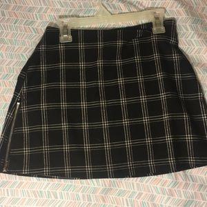 Gypsy Warrior plaid skirt